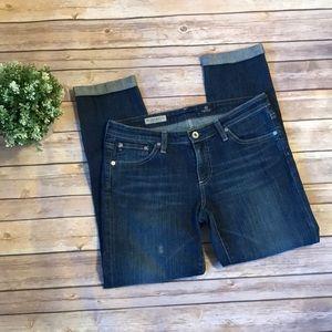 AG   Stilt Roll UP Crop Jeans